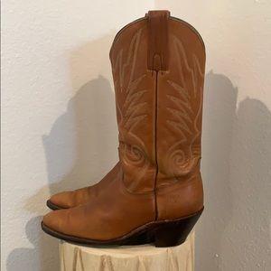 Auth Frye Vintage mens leather cowboy boots sz 10